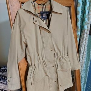 Vintage Burberry short trench